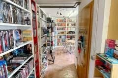 Blick zum Lesecafé