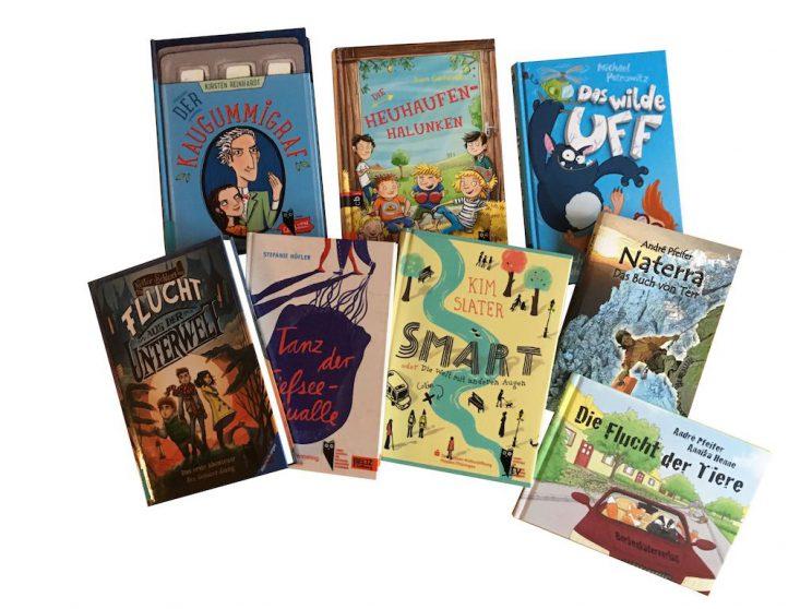 Verschiedene Bücher - Lesefutter für Kids
