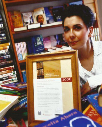 Urkunde Thüringer Bibliothekspreis 2006